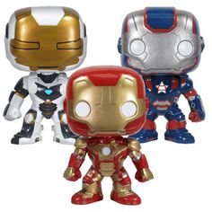 POP Bobble Iron Man Set, $26.97, now featured on Fab.