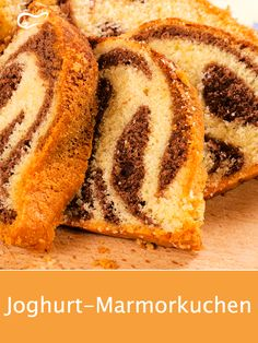 The juicy yoghurt marble cake is particularly easy with this recipe. - Kuchen- und Backrezepte - The juicy yoghurt marble cake is particularly easy with this recipe. Cake Recipes, Dessert Recipes, Keto Desserts, Gateaux Cake, Marble Cake, Cupcakes, Evening Meals, Eating Plans, Keto Dinner