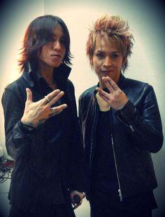 Sugizo and Inoran. Luna Sea