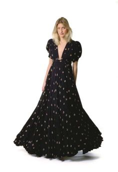 A 'TARTS' MAXI GOWN BY OSSIE CLARK