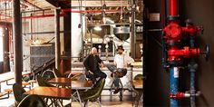 Truth Coffee Shop  - decorated in Steampunk style. Open weekdays from 7am to 6pm, Fridays open at 8am. Sundays close at 2pm. 36 Buitenkant Street, Cape Town. +27 (021) 200 0440
