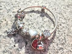 my bracelet and charms (august 29, 2015)