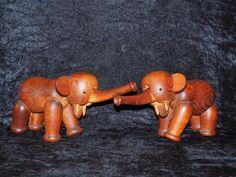 Kay Bojesen Denmark Elephant Vintage Signed, RARE TO FIND A PAIR, EXCELLENT COND | eBay