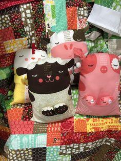 Farm Fun Animals by Stacy Iest Tsu Moda Fabrics