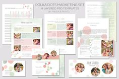 Photography Workflow Set by Maria B. Paints on Creative Market