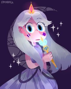 Moon looked so much like star when she was little