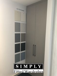 Looking for inspiration for your Fitted Wardrobes? Book a showroom visit today to discover all our fitted wardrobe ranges. Tall Cabinet Storage, Locker Storage, Fitted Bedrooms, Fitted Wardrobes, Ranges, Showroom, London, Book, Fitness