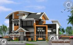 Indian New Home Designs 2 Story House Plans With Balcony Online Home Design Images, House Design Pictures, New Home Designs, House Plans Online, New House Plans, Small House Plans, Beautiful House Images, Beautiful House Plans, Indian Home Design