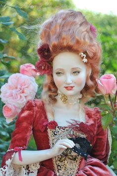 bjd art doll - french court
