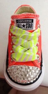 DIY Project of the Week: Bedazzle Your Own Converse Sneakers