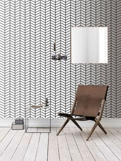 Self adhesive wallpaper  temporary wallpaperremovable by LenaTapet