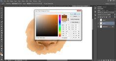 Tutorial de como pintar um nariz - By: Ana Paula de Melo -