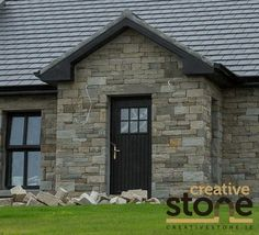 Here you can view a selection of stone houses I have constructed. If you would like further information or would be interested in hiring me as a stonemason then please feel free to contact me. Stone Houses, Front Porches, Porch Ideas, Retirement, Ireland, Restoration, Shed, Construction, Outdoor Structures