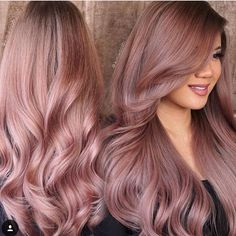 Rose Gold Pefection  @kimwasabi with @guy_tang