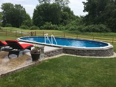 Having a pool sounds awesome especially if you are working with the best backyard pool landscaping ideas there is. How you design a proper backyard with a pool matters. Above Ground Pool Landscaping, Above Ground Pool Decks, Small Backyard Pools, Backyard Pool Landscaping, Above Ground Swimming Pools, In Ground Pools, Landscaping Ideas, Backyard Ideas, Pool Pavers