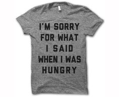 We call it being 'hangry'