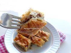 Yetur'la lezzet kareleri.com: yufkalı ve el açması börekler