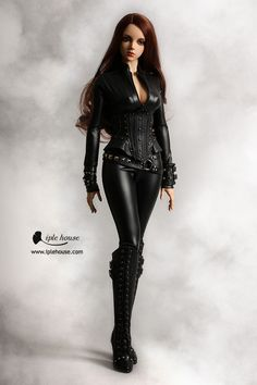 ITEM VIEW : EID - Woman - EID_Woman Tight leather suit set