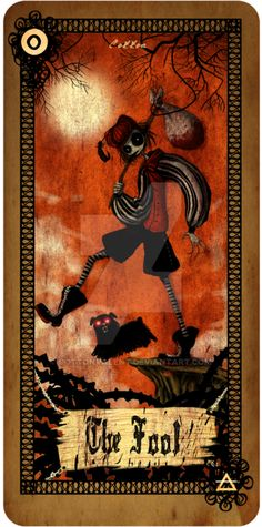 Tarot card - The Fool by CottonValent on DeviantArt