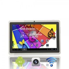 Ships from USA Cube U18GT 7 Capacitive AFFS Screen Dual-Core Android 4.1 8GB Tablet PC with Camera Wifi White  . This Tablet Pc features fast speed and stronger performance, has a system that can upgrade and support multiple programs at the same time. Let the advanced technology change your  #tablet #cell #phone #computer #shopping #shop #deals #PC #wireless #smart #tv #Media #Player #Cloud #droid #Market #Google #Phone