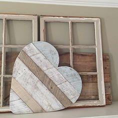 Reclaimed Wood Heart Wall/Door Hanger
