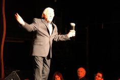 Tony Butala, founding member of The Lettermen performing at the Doo Wop Music Hall of Fame Induction Gala