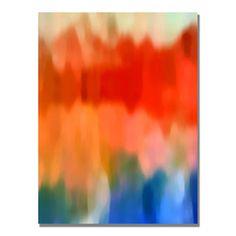 Amy Vangsgard 'Abstract Watercolor IV' Canvas Art