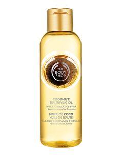 'Aceite de Belleza de Coco' (12 €). Aceite seco para cuerpo, rostro y cabello. The Body Shop