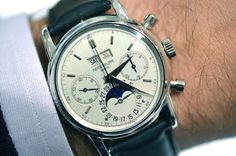 Eric Clapton's Patek Philippe - pre-sale estimate of $2,700,000 to $4,200,000