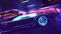 Retrowave, a short style promo animation created in Cinema by Florian Renner. Florian Renner is a German freelance designer working in the fields New Retro Wave, Retro Waves, Waves Wallpaper, Neon Wallpaper, Vaporwave Wallpaper, 80s Neon, Time Lapse Photography, 3d Video, Video Game