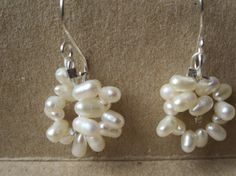 Hey, I found this really awesome Etsy listing at https://www.etsy.com/listing/203694490/freshwater-pearl-hoop-earrings-hoop-and
