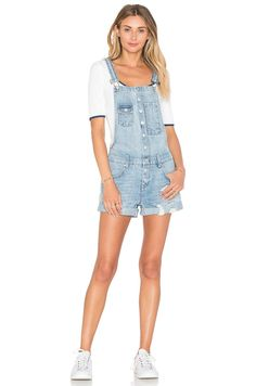 Pin for Later: Trending Outfits to Up Your Summer Fashion Game  Lovers + Friends Shane Short Overalls ($178)