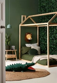 chambre d'enfant savane jungle #ChildRoom
