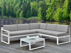 2 seater aluminium garden sofa JIAN Jian Collection by GANDIA BLASCO