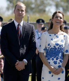 The Duke and Duchess of Cambridge in Australia, April 2014 #katemiddleton