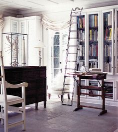 Awesome library ladder!