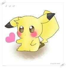 cute pikachu couple pokemon - photo #19