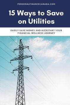 Here are 15 tips to lower your monthly utility costs, saving you money, and continuing your financial freedom journey! #finance #financialplanning #budgeting #budgetingtips #money #moneysavingtips #financialfreedom