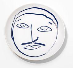 Prato Homem Coleção Casal 10 - Bambola Designer Paula Juchem