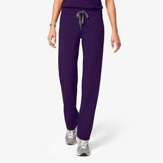 These women's Livingston petite scrub pants make it through intense shifts with yoga-inspired comfort. Part of our Technical collection of tailored-fit scrubs. Cargo Pants Women, Pants For Women, Black Scrubs, Gold Blouse, Medical Scrubs, Cool Bike Accessories, H&m Women, Scrub Pants, Biceps Workout