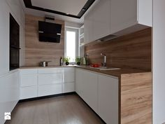 nowoczesna kuchnia w Olsztynie - zdjęcie od ap. studio architektoniczne Aurelia Palczewska-Dreszler