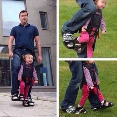Father makes boots to give paralyzed daughter the sensation of walking. Faith in humanity restored. Sweet Stories, Cute Stories, Beautiful Stories, Awesome Stories, Awesome Quotes, News Stories, Beautiful Moments, Human Kindness, Kindness Matters