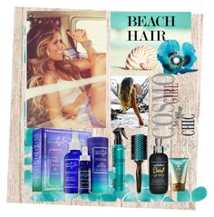 """Heatless beach waves"" by mmayes-1 ❤ liked on Polyvore featuring beauty, Moroccanoil, Captain Blankenship, Bumble and bumble and beachhair"