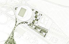 gmp gewinnen Wettbewerb in Lausanne / Ikone des Sports - Architektur und Architekten - News / Meldungen / Nachrichten - BauNetz.de