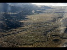 Over the Sierra Nevada Desert
