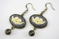 SALE  Handmade Vintage Style Dangle Earrings by TerryReynoldson, $20.00