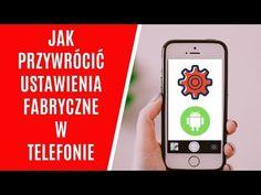 Jak przywrócić ustawienia fabryczne w telefonie Samsung? (Android) - YouTube Techno, Android, Samsung, Iphone, Youtube, Youtube Movies