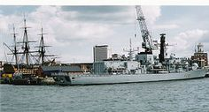 HMS Marlborough (F233) 1989, was a 'Duke'-class Type 23 frigate of the Royal Navy, and the sixth ship to bear the name. Marlborough was the first naval ship on the scene to assist the stricken USS Cole after she was attacked in Aden, Yemen in October 2000.Marlborough played a key role in the second Gulf War,
