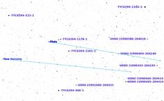 In anticipation of the New Horizons probe making a close flyby of Pluto on July 14, this sky chart can help you spot the dwarf planet in the night sky (with the assistance of a high-power telescope).
