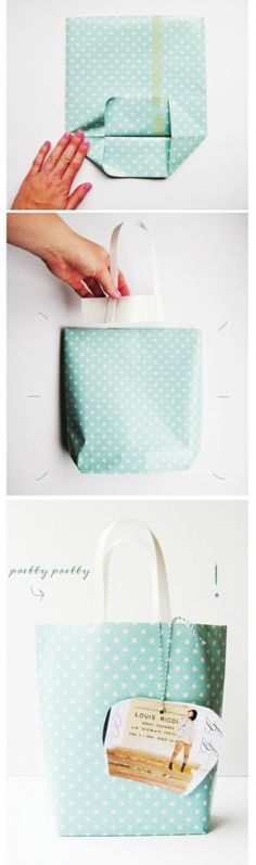 Paper Gift Bag Tutorial